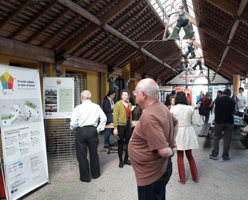 Le projet 5Ponts est présenté à la rencontre de quartier Ile de Nantes, en avril 2018