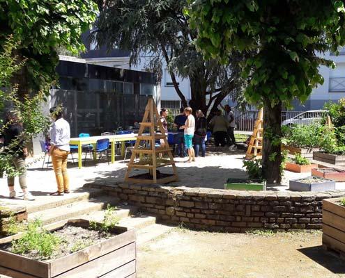 Jardin'Halte, un potager qui teste l'inclusion de tous, au travers d'activités de jardinage