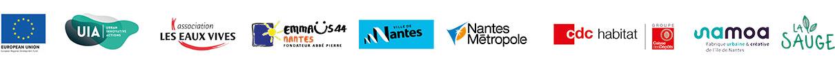 Partenaires du projet 5Ponts Nantes