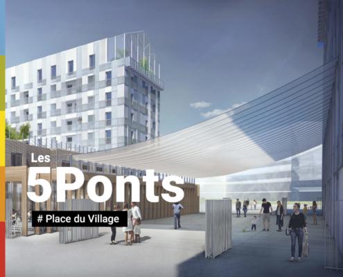 5Ponts - Place du village solidaire