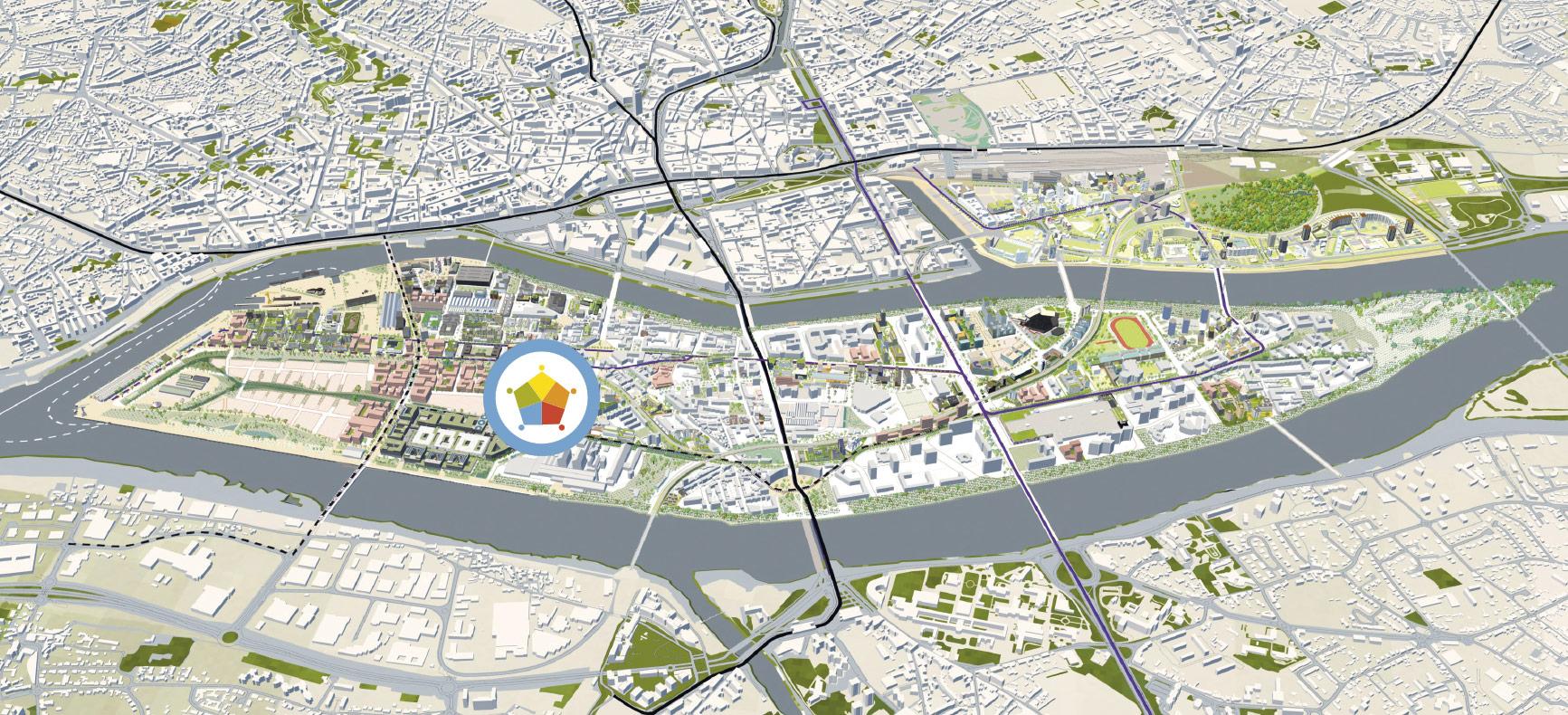 Île de Nantes à l'horizon 2026